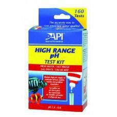 API Fresh/Saltwater High Range pH Testkit 250 Test