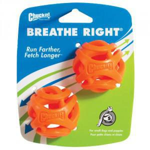 ChuckIt! Breathe Right Fetch Ball Small 2 pack