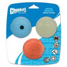 Chuckit! Fetch Medley Assorted Balls 3pk