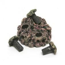 Eshopps Nano Frag Rock with 3 Plugs