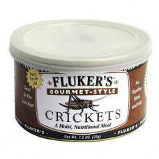Fluker's Gourmet-Style Canned Crickets 35g