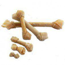 10cm Knotted Rawhide Bones 20 Pack