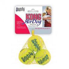 Kong Air Dog Squeakair Ball Small 3 Pack 5cm
