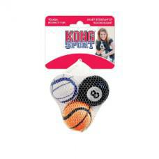 Kong Sport Balls Medium 3 Pack 7cm