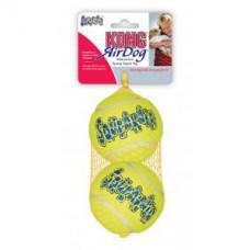 Kong Air Dog Squeakair Ball Large 2 Pack 8cm