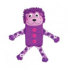 Kong Zillowz Hedgehog Dog Toy Purple Small