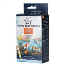 API Pondcare 5 in 1 Pond Test Strips