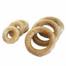 11cm Pressed Rawhide Rings 10 Pack
