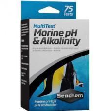Seachem Multitest Marine pH & Alkalinity Test Kit