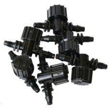 Two Little Fishies Micro Valve Barb x Thread - (6 Per Pack)